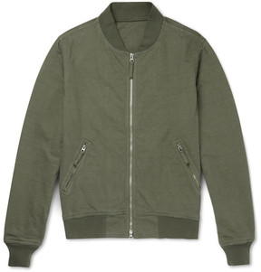 Aspesi Cotton-Jersey Bomber Jacket