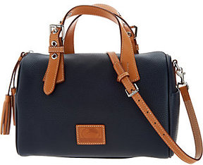 Dooney & Bourke As Is Patterson Pebble Leather Kendra Satchel - ONE COLOR - STYLE