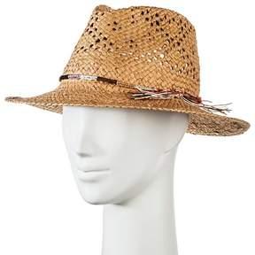 Merona Women's Panama Hat Tan with Multi-braid
