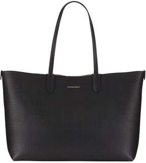 Alexander McQueen Lino Medium Embossed Leather Tote Bag