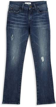 DL1961 Premium Denim Girl's Distressed Stretch Jeans