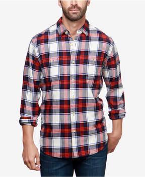 Lucky Brand Men's Western Plaid Shirt