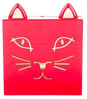 Charlotte Olympia Kitty Convertible Clutch