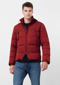 Mango Outlet Mixed quilted jacket