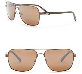 Revo Peak Polarized 59mm Navigator Sunglasses