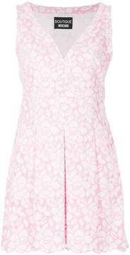 Moschino embroidered floral dress