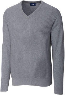 Cutter & Buck Blue Bryant V-Neck Sweater - Men