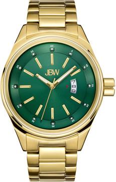 JBW Rook Green Dial Gold-tone Men's Watch