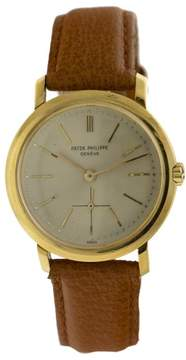 Patek Philippe 18k Yellow Gold Automatic Vintage Watch
