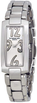 Raymond Weil Shine Silver Dial Stainless Steel Ladies Watch