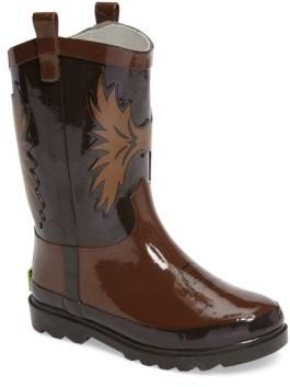 Western Chief Boy's Cowboy Waterproof Rain Boot