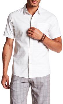 Burnside Short Sleeve Regular Fit Woven Shirt
