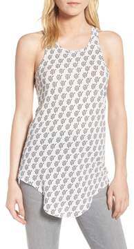 Frank And Eileen Print Long Layering Tank