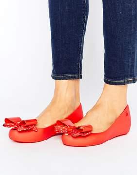Melissa Minnie Mouse Bow Ballerina Pumps