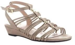 Madeline Women's Sound Ankle Strap Wedge Sandal.