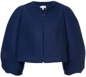 DELPOZO cropped oversized jacket