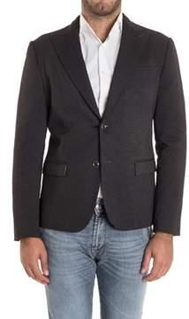 Alessandro Dell'Acqua Men's Black Viscose Blazer.