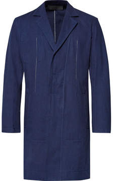 Haider Ackermann Slim-Fit Indigo-Dyed Cotton-Twill Jacket