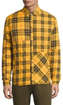 Mostly Heard Rarely Seen Textured Cotton Shirt