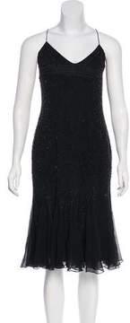 Amanda Wakeley Silk Embellished Dress