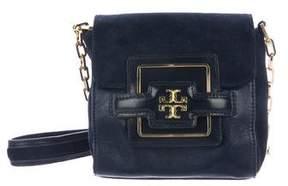 Tory Burch Leather & Suede Crossbody Bag