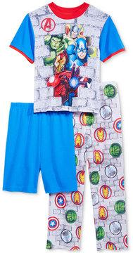 Marvel Marvel's Avengers 3-Pc. Pajama Set, Little Boys (4-7) & Big Boys (8-20)