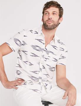 Lucky Brand Ikat One Pocket Shirt