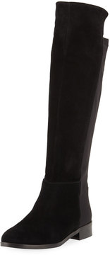 Sesto Meucci Pamel Stretch-Back Suede Riding Boot