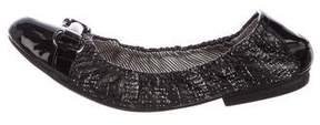 Tahari Gracious Leather Flats