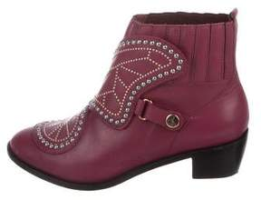 Sophia Webster Studded Leather Booties