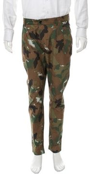 Etudes Studio Camouflage Cropped Pants
