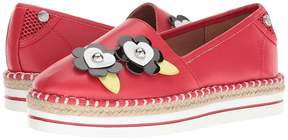 Love Moschino Faux Leather Espadrille Women's Shoes