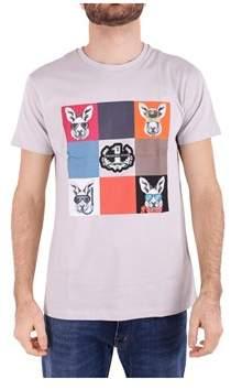 Trussardi Men's Grey Cotton T-shirt.