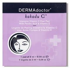 DERMAdoctor Kakadu C Intensive Vitamin C Peel Pads with Ferulic Acid Vitamin E