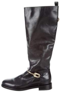Bruno Magli Leather Riding Boots