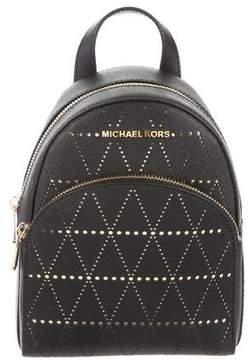 MICHAEL Michael Kors Leather Abbey Backpack