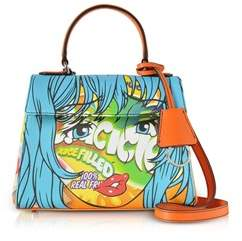 Moschino Women's Multicolor Pvc Handbag.