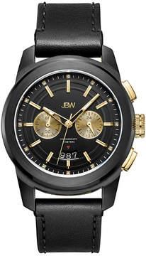 JBW Diamond Mens Black Strap Watch-J6352c