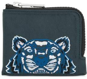 Kenzo Men's Blue Polyurethane Wallet.