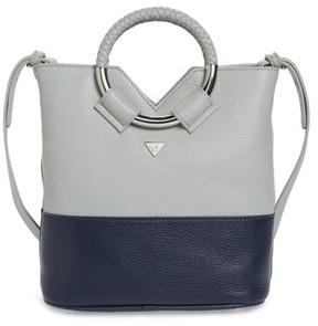 Sam Edelman Small Elina Leather Crossbody Bag - Blue