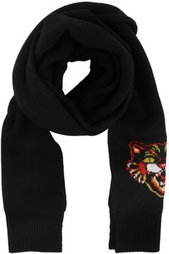 Gucci Angry Cat Detail Scarf