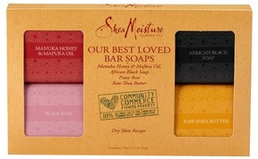 SheaMoisture Community Commerce Our Best Loved Bar Soaps - 3.5oz - 4 count