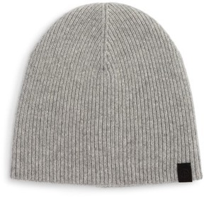 Rag & Bone Ace Cashmere Knit Cap - Grey