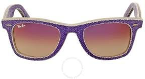 Ray-Ban Original Wayfarer Denim Violet Gradient Sunglasses RB2140 1167S5