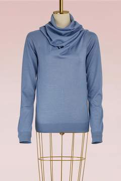 Jil Sander Wool and Silk Sweater