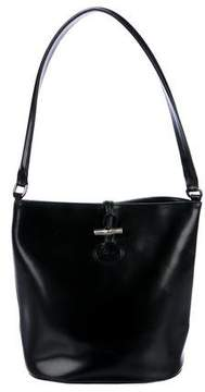 Longchamp Roseau Shoulder Bag - BLACK - STYLE