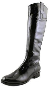 Gabor 91.639 Round Toe Patent Leather Mid Calf Boot.