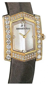 Audemars Piguet Facettes Diamond 18 kt Yellow Gold Ladies Watch