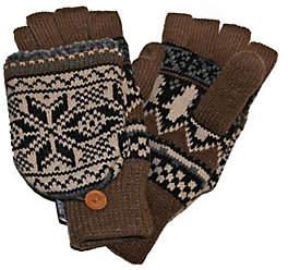Muk Luks Traditional Nordic Flip Glove for Men