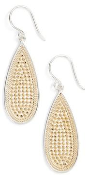 Anna Beck Women's Long Oval Drop Earrings